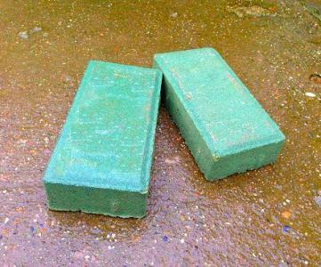 绿色通体透水砖